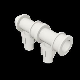 Valsir Pexal EASY 2-way modular manifold hot water