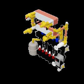 Therminon Composite unit model OEM LTV split system double heat exchanger