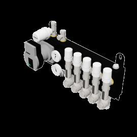 Robot Vloerverwarming B.V. Optimum Flow Pro steel manifold