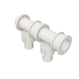 Valsir Pexal EASY 2-way modular manifold cold water