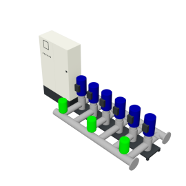 Duijvelaar Pompen HU6 Utility Line DPVF25 VC Cabinet D