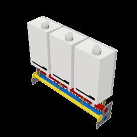 Rendamax R40 ECO 3Boiler Wall DN100