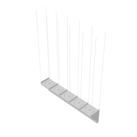 Mark Climate Technology Easyair T200 Kaltluftschleier mit 5 Ventilatoren