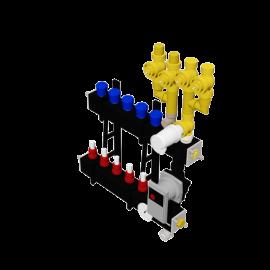 Therminon Composite unit model LTV 4 pipe connection