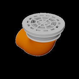 DE BEER Pluvetta 80 (50-60 mm with 90° bend)