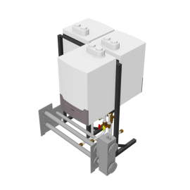Remeha Quinta Ace 45-65-90-115 Cascade Supine/ Rahmen 3 Geräte