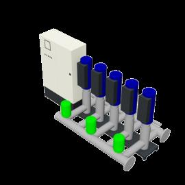 DP-Pumps HU5 Utility Line DPVF25 SVP Cabinet D