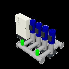 DP-Pumps HU4 Utility Line DPVF125 F Cabinet D