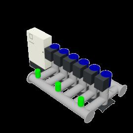 DP-Pumps HU6 Utility Line DPVF125 SVP Cabinet D