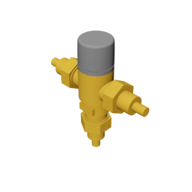 Caleffi Adjustable Thermostatic and Pressure Balanced Mixing Valve