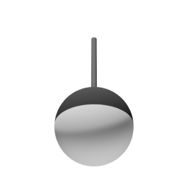 Unspecified Generic Hanging Lighting Fixture Bowl/Orb