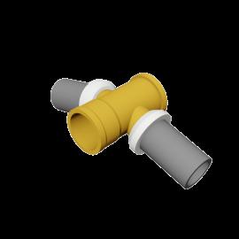 Valsir Pexal BRASS Elbow fitting 15° hot water
