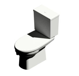 Sphinx Sphinx toilet suite 54 PK (with cover)