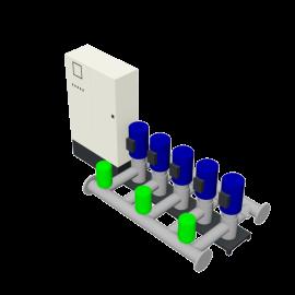 Duijvelaar Pompen HU5 Utility Line DPVF40-60-85 VC Cabinet D