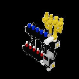 Therminon Composite unit model OEM LTV 4 pijps aansluiting