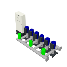 Duijvelaar Pompen HU6 Utility Line DPVF25 SVP