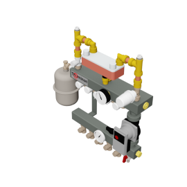 Therminon Unit model LTV compact DA split system