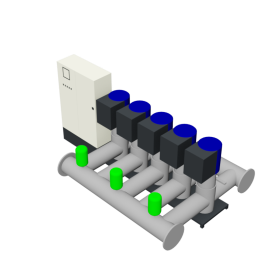 Duijvelaar Pompen HU5 Utility Line DPVF125 SVP Cabinet D