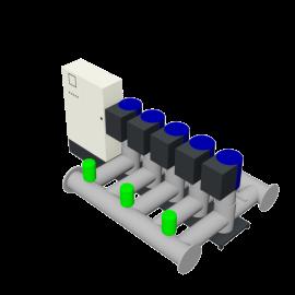 DP-Pumps HU5 Utility Line DPVF125 SVP Cabinet D