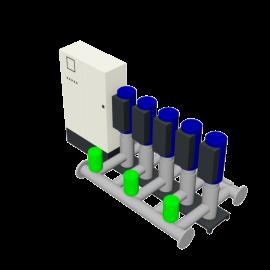DP-Pumps HU5 Utility Line DPVF40-85 SVP Cabinet D