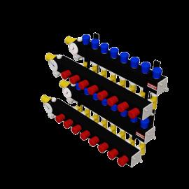 Robot Vloerverwarming B.V. LTC 4-balks composiet verdeler