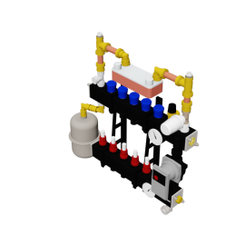 Therminon Composite unit model OEM LTV split system