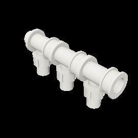 Valsir Pexal EASY 3-way modular manifold hot water
