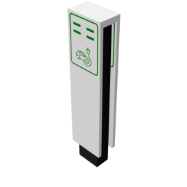 Unspecified Electrical charging station floorstanding