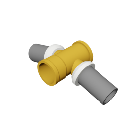 Valsir Pexal BRASS Elbow fitting 15° cold water