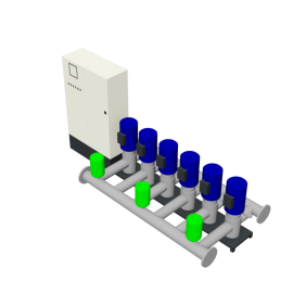 DP-Pumps HU6 Utility Line DPVF40-60-85 VC Cabinet D