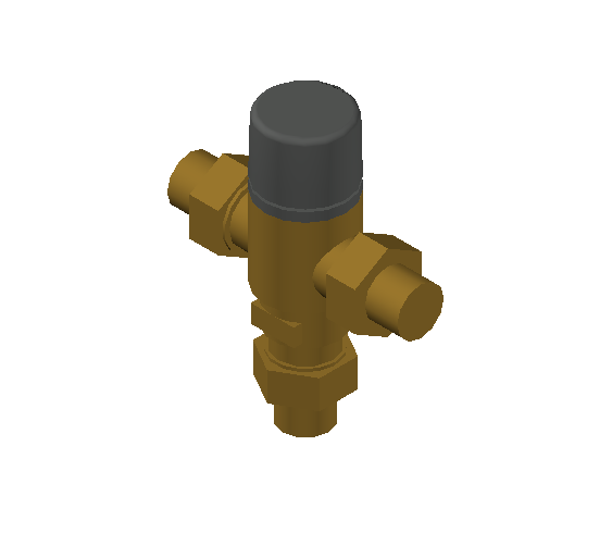 SA_Adjustable_Three-way_Thermostatic_Mixing_Valve_MEPContent_Caleffi-521A_DN15-DN25_.75 in. SWT_US-EN.dwg