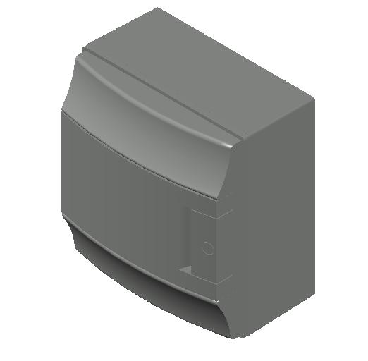 E_Distribution Board_MEPcontent_ABB_MISTRAL65_8 modules 232x250x155 with terminals opaque door_INT-EN.dwg