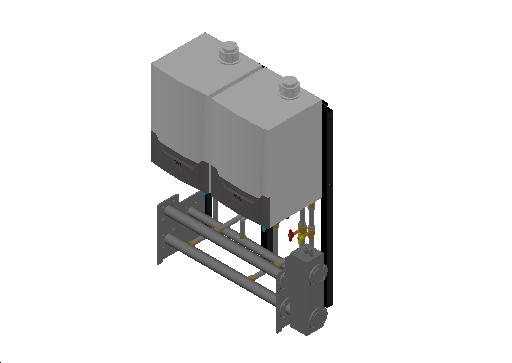 HC_Boiler_MEPcontent_Remeha_Quinta Ace 45-65-90-115 Cascade Freestanding 2_DN65 0-350kW - QAce90_INT-EN.dwg