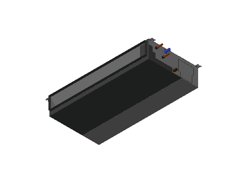 HC_Air Conditioner_Indoor Unit_MEPcontent_Mitsubishi Electric Corporation_PEFY-W100VMA-A_INT-EN.dwg