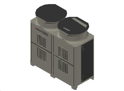 HC_Heat Pump_MEPcontent_Mitsubishi Electric Corporation_PUHY-EP450YLM-A1_INT-EN.dwg