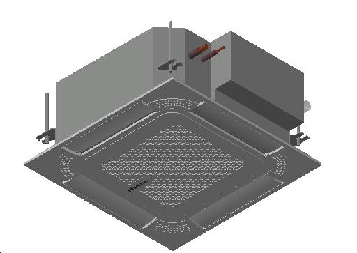 HC_Air Conditioner_Indoor Unit_MEPcontent_Hisense_AVC-19HJFA_INT-EN.dwg