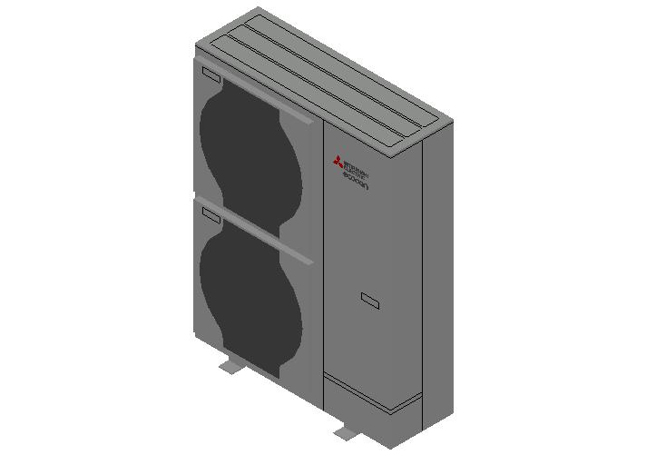 HC_Heat Pump_MEPcontent_Mitsubishi Electric Corporation_Ecodan_PUZ-HWM140YHA_INT-EN.dwg