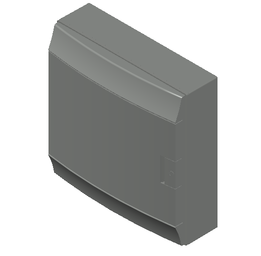 E_Distribution Board_MEPcontent_ABB_MISTRAL65_36 modules 430x435x155 with terminals opaque door_INT-EN.dwg