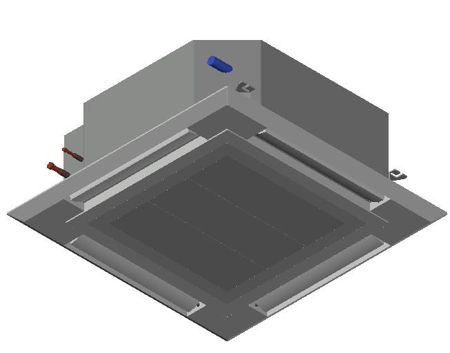 HC_Air Conditioner_Indoor Unit_F_MEPcontent_Mitsubishi Electric Corporation_PLFY-M100VEM-E_INT-EN.dwg