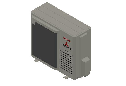 HC_Heat Pump_MEPcontent_Mitsubishi Heavy Industries_RAC_SRC71ZR-W_INT-EN.dwg