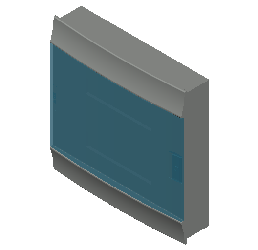 E_Distribution Board_MEPcontent_ABB_MISTRAL41F_Hollow Walls_36 modules 430x435x107 without terminals transparent door_INT-EN.dwg