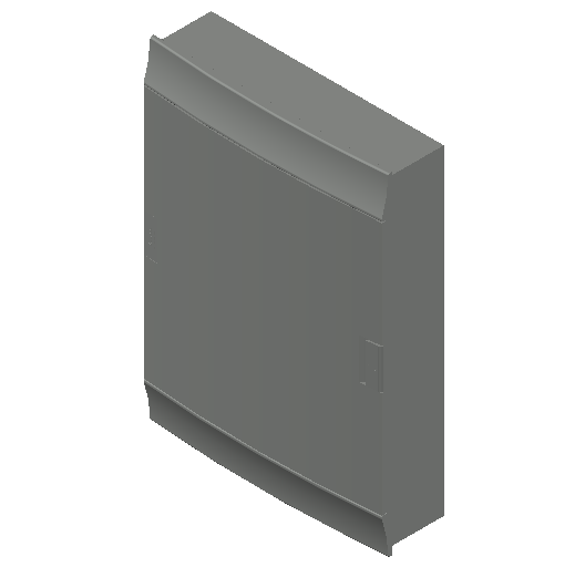 E_Distribution Board_MEPcontent_ABB_MISTRAL41F_Hollow Walls_54 modules 430x600x127 without terminals opaque door_INT-EN.dwg