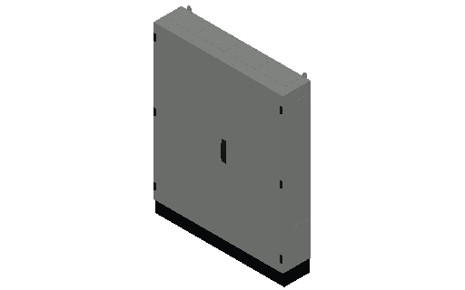 E_Distribution Panel_MEPcontent_ABB_TwinLine N 55_Earthed_1250x1050x225_INT-EN.dwg