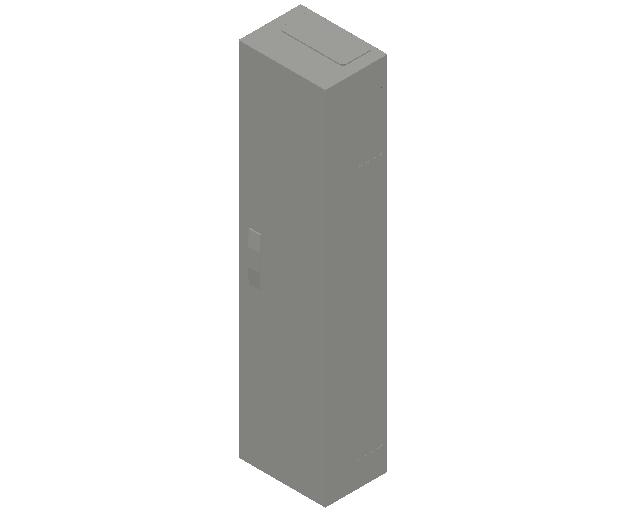 E_Distribution Panel_MEPcontent_ABB_ComfortLine B-Cabinets_8 Rows_B18 - IP44 96 modules 1250x300x215_INT-EN.dwg