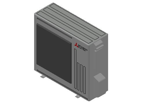 HC_Heat Pump_MEPcontent_Mitsubishi Electric Corporation_SUZ-M50VA_INT-EN.dwg