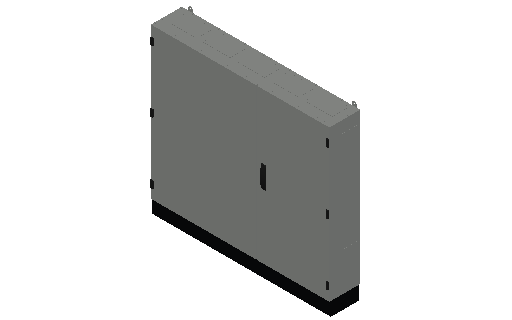 E_Distribution Panel_MEPcontent_ABB_TwinLine N 55_Earthed_1100x1300x225_INT-EN.dwg