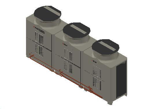 HC_Heat Pump_MEPcontent_Mitsubishi Electric Corporation_PUHY-EP900YSLM-A1_INT-EN.dwg