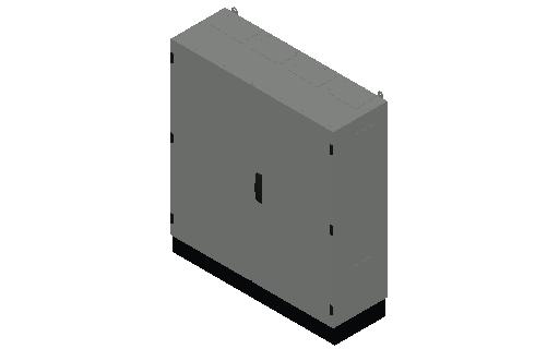 E_Distribution Panel_MEPcontent_ABB_TwinLine N 55_Earthed_1100x1050x350_INT-EN.dwg