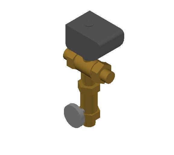 SA_Electronic_mixing_valve-MEPContent_CALEFFI-6000A-DN20-DN50_0.75 inch. sweat union_US-EN.dwg