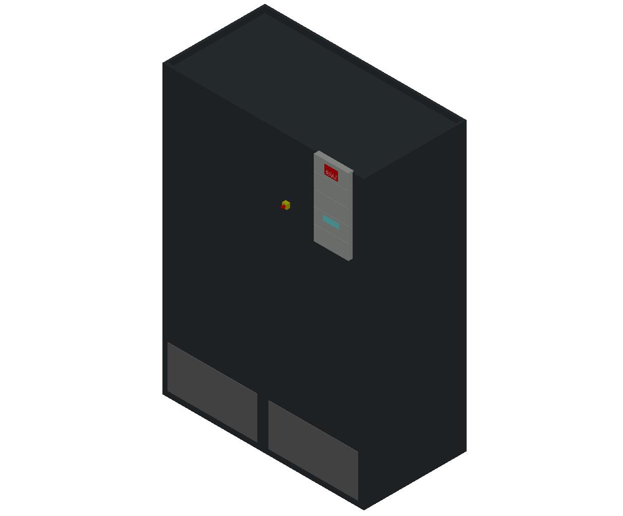 HC_Air Conditioner_Indoor Unit_MEPcontent_STULZ_CyberAir 3PRO_ASR_Dual Circuit A_ASR_532_A_INT-EN.dwg